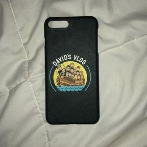 David Dobrik Iphone 6,7,8 Plus Case